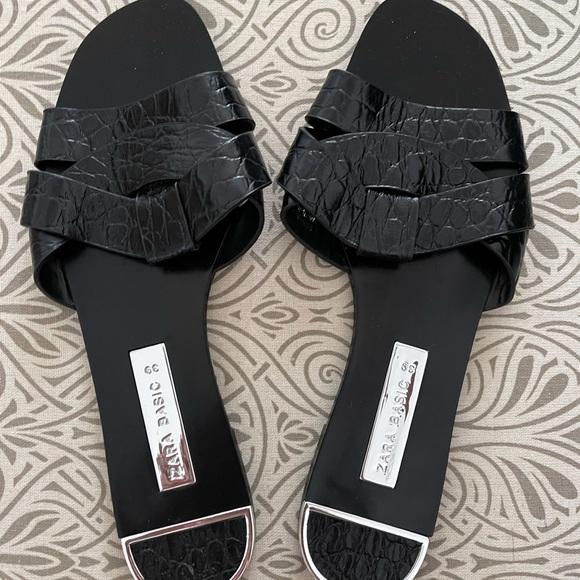 Zara Badics Black Sandals